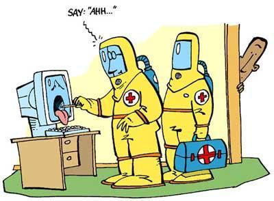 处理电脑病毒