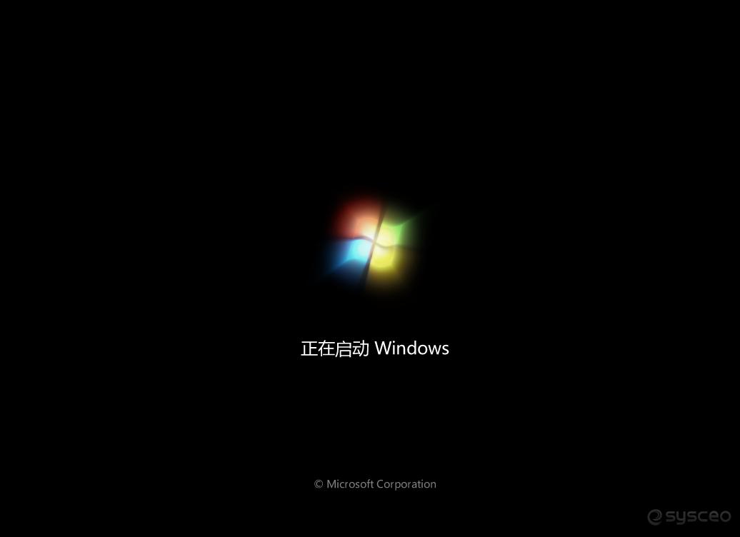 正在启动Windows