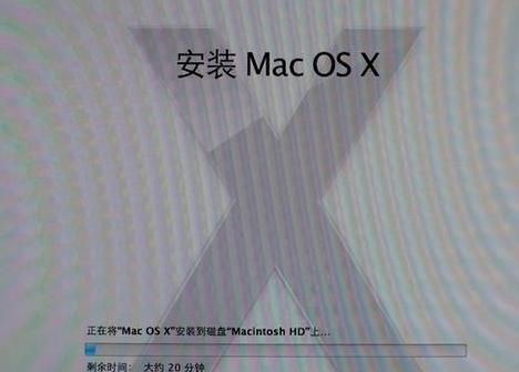 安装 Mac OS X